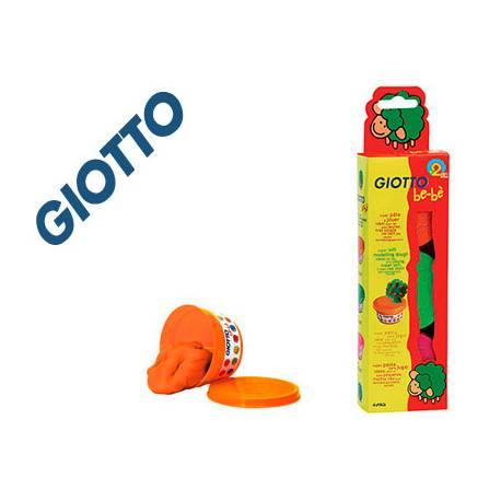 Pasta para modelar marca Giotto Bebe pack 3 colores surtidos