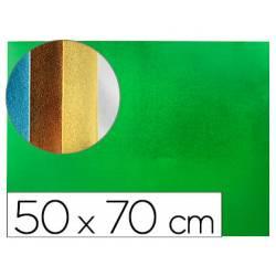 Goma eva Liderpapel Metalizada Verde 50x70 cm