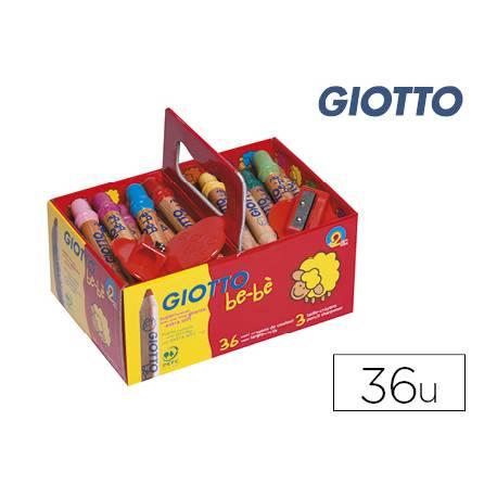 Lapices de colores Giotto Super Lapices School Pack Bebe de 36 unidades