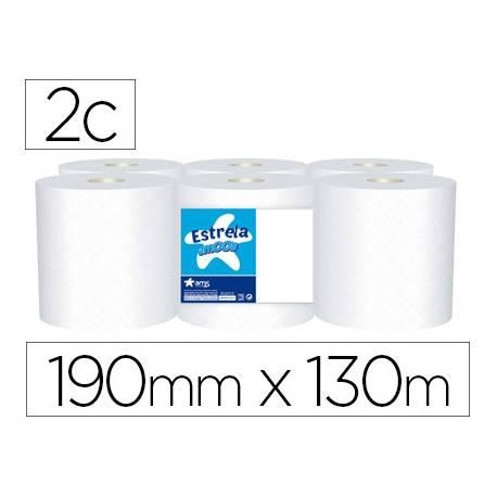 Papel secamanos marca Amoos 2 capas