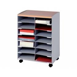 Modulo Paperflow color gris 720x514x330mm