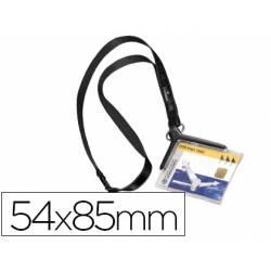 Identificador con cordon diagonal marca Durable