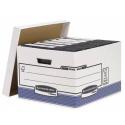 Cajon Fellowes reciclado capacidad 4 cajas archivo tamaño folio