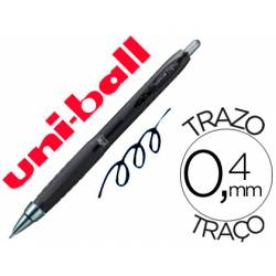 Boligrafo uni-ball UMN-307 roller tinta gel color negro 0,5 mm