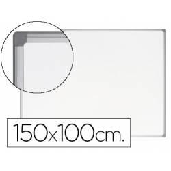 Pizarra Blanca Vitrificada Magnetica Earth-it con marco de aluminio 150x100 Bi-Office