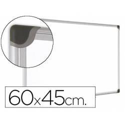 Pizarra Blanca Vitrificada Magnetica con marco de aluminio 60x45 Bi-Office