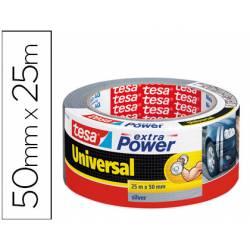 Cinta adhesiva marca Tesa americana extra power 25 m x 50 mm