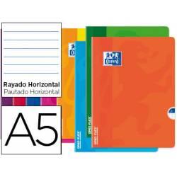 Libreta Escolar Oxford DIN A5 48 hojas Rayado horizontal Colores Surtidos