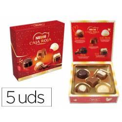 Caja bombones marca Nestle 5 unidades