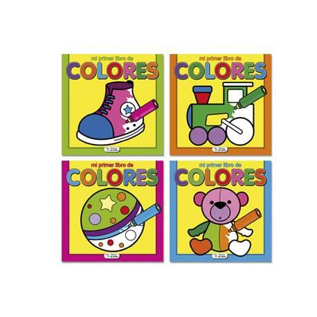 Cuaderno para colorear Mi Primer Libro 72 páginas (NO SE PUEDE ELEGIR)