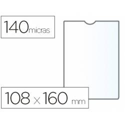 Funda portadocumento marca Esselte plastico cristal 108 x 160 mm