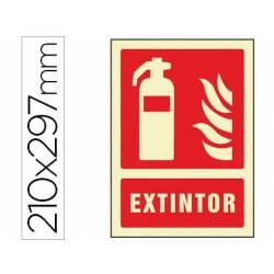 Señal marca Syssa extintor