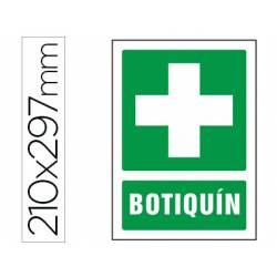 Señal marca Syssa botiquin