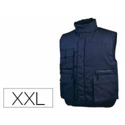 Chaleco multibolsillos DeltaPlus color azul talla XXL