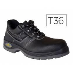 Zapatos de seguridad de Piel DeltaPlus talla 36