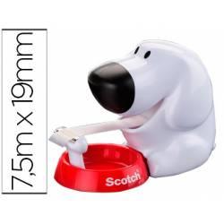 Portarrollo de sobremesa Scotch perro