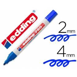 Rotulador Edding 750 color azul
