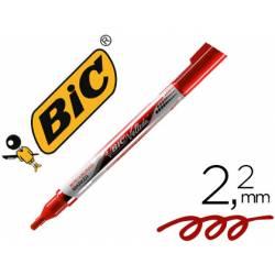 Rotulador Bic Velleda 2,2 mm color rojo