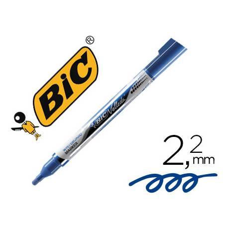 Rotulador Bic Velleda 2,2 mm color azul