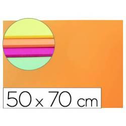 Goma Eva Liderpapel color fluor naranja