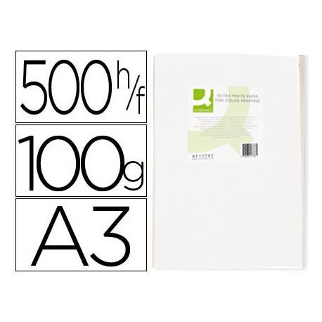 Papel fotocopiadora Q-Connect Ultra White DIN A3 100 Gr