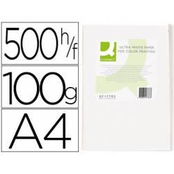 Papel fotocopiadora Q-Connect Ultra White DIN A4 100 Gr