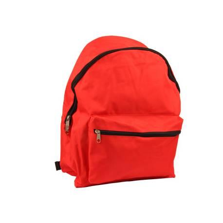 Mochila Escolar Liderpapel Sin Carro 40x30x17 cm Roja