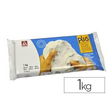 Arcilla Sio-2 Plus color blanco 1000 g