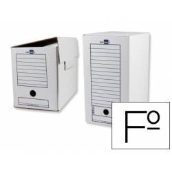 Cajas de archivo definitivo marca Liderpapel carton 367x251x200 mm