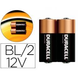 Pila marca Duracell alcalina security 12v blister