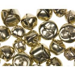 Cascabeles metalicos oro Tamaños surtidos itKrea