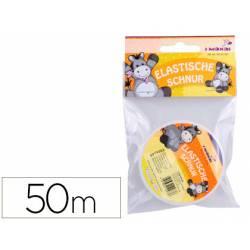 Cordon elastico transparente 50 mt itKrea