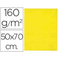 Fieltro marca Liderpapel 50 x 70 cm amarillo