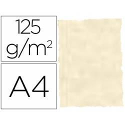 Papel pergamino DIN A4 troquelado color Piel de elefante Hueso
