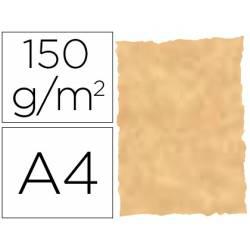 Papel pergamino DIN A4 troquelado color Ocre parchment