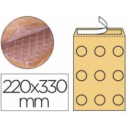 Sobre burbuja Q-Connect f/3 color tabaco caja 50