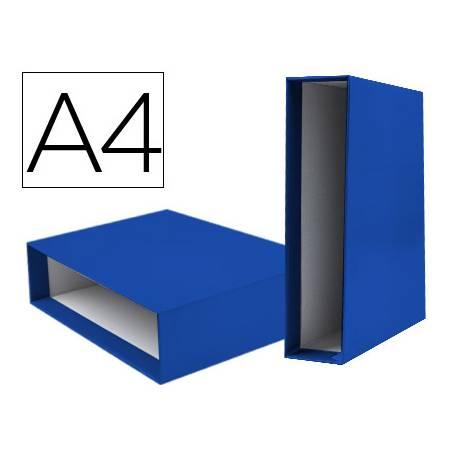 Caja archivador marca Liderpapel de palanca Din A4 documenta Azul