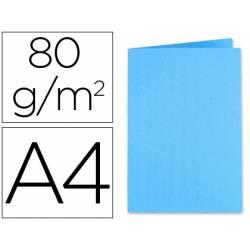 Subcarpeta Exacompta din A4 80 g/m2 color azul turquesa