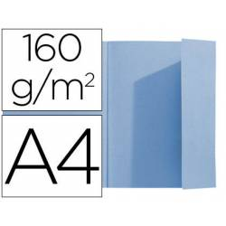 Subcarpeta Exacompta nature future din A4 azul 160 g/m2 con solapa interior