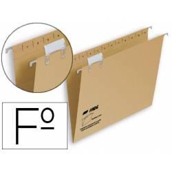 Carpeta colgante marca Hamelin Folio visor superior Kraft