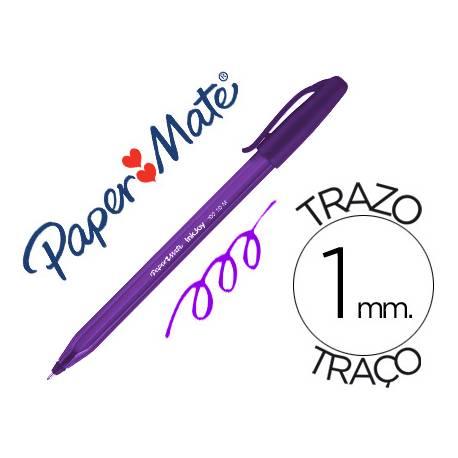 Boligrafo Paper Mate Inkjoy 100 1 mm morado