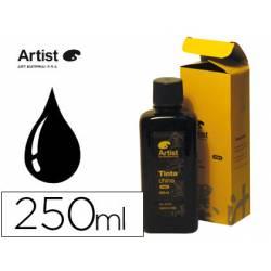Tinta china Artist negra frasco 200 ml