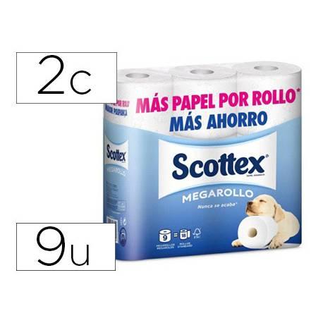Papel higienico Scottex Megarrollo