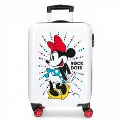 Maleta de cabina rígida Mickey Magic dots 36 cm x 55 cm x 20 cm