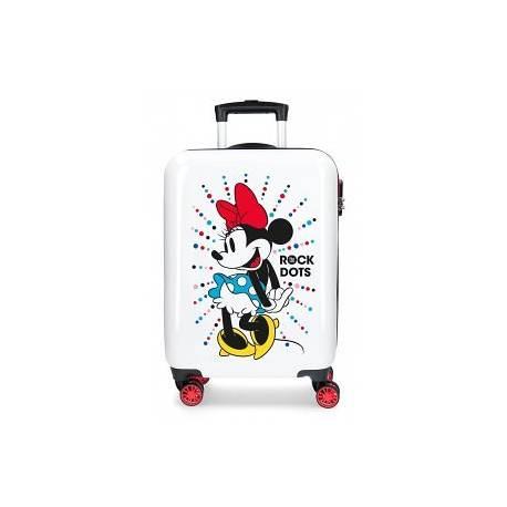 Maleta de cabina rígida Mickey Magic dots 36 cm x 55 cm x 20 cm