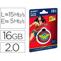 MEMORIA USB EMTEC FLASH 16 GB USB 2.0 COLLECTOR WONDER WOMAN