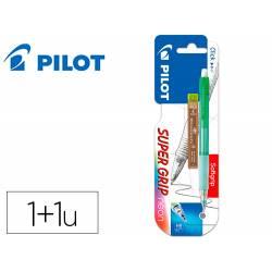 PORTAMINAS PILOT H-185 CUERPO COLOR NEON 0,5 MM + 1 TUBO DE 12 MINAS EN BLISTER