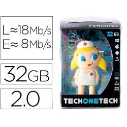 MEMORIA USB TECH ON TECH ENFERMERA KITTY 32 GB