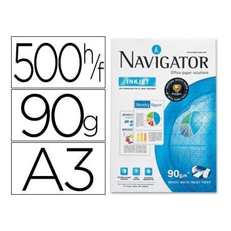 Papel multifuncion A3 Navigator 90 g/m2