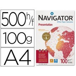 Papel multifuncion A4 Navigator 100 g/m2